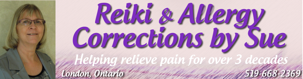 Reiki & Allergy Corrections by Sue